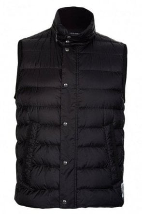 4f8f2a493491 MONCLER Moncler Gamme Bleu Hooded Down Gilet - Clothing from Circle ...