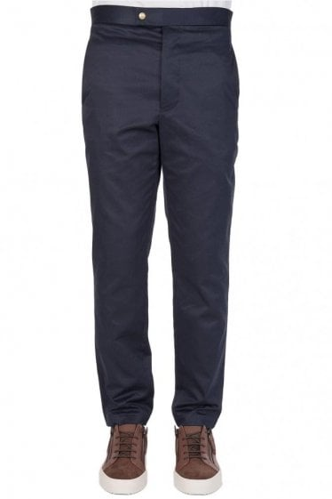Moncler Gamme Bleu Patch Pockets Chinos Navy