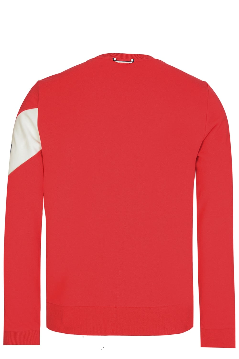 red moncler sweatshirt
