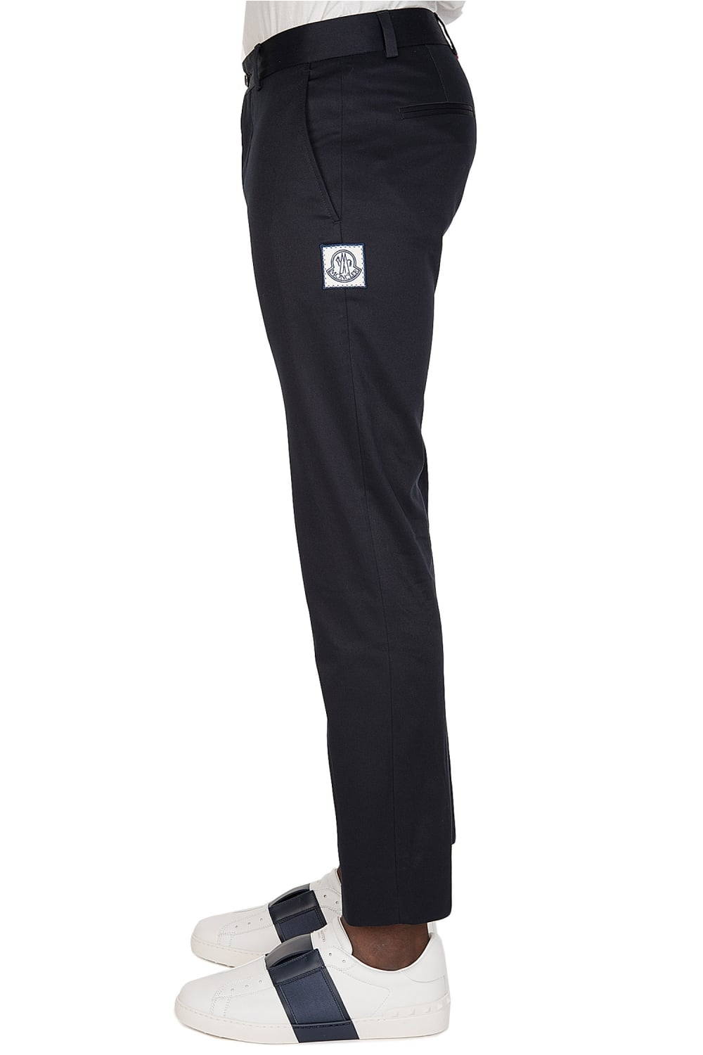 960f9673d Moncler Gamme Bleu Tapered Trousers Navy