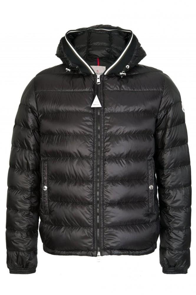 Outlet Hot Sale With Paypal Online Moncler Gravier jacket - Black Outlet Visa Payment 0TUjXVr7N
