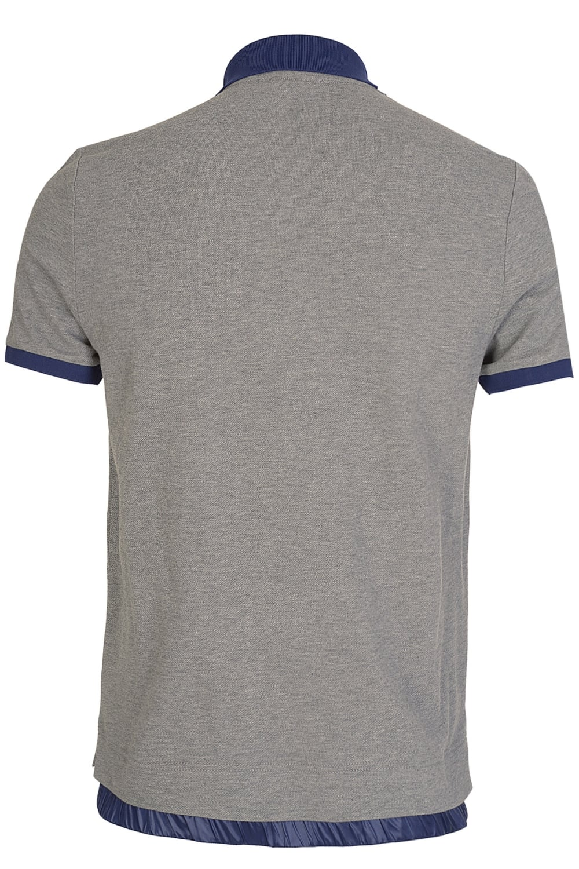 95958d275 Grenoble Contrast Collar Polo Grey