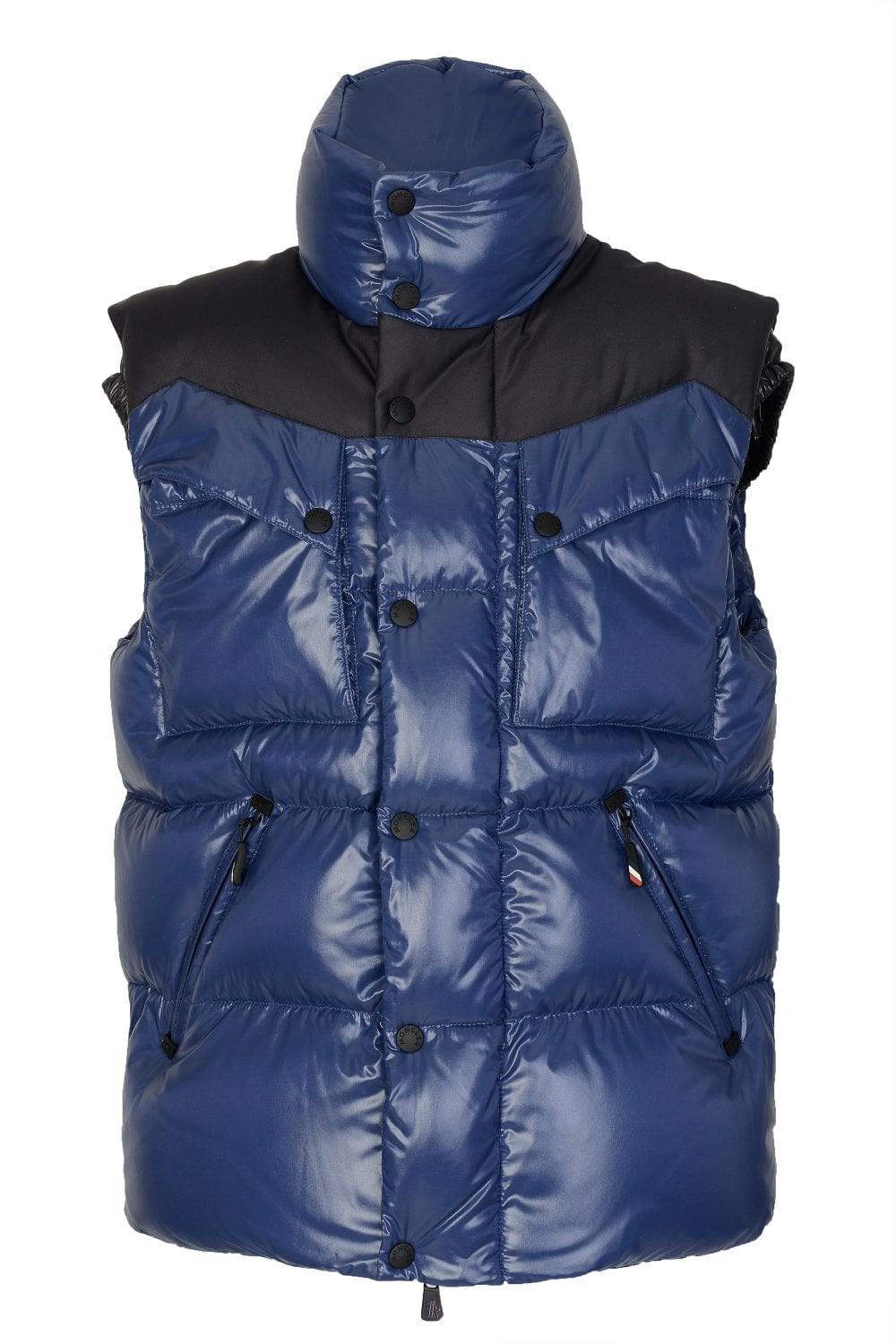 f5e3c3d37f6c MONCLER Moncler Grenoble Poris Quilted Gilet - Clothing from Circle ...
