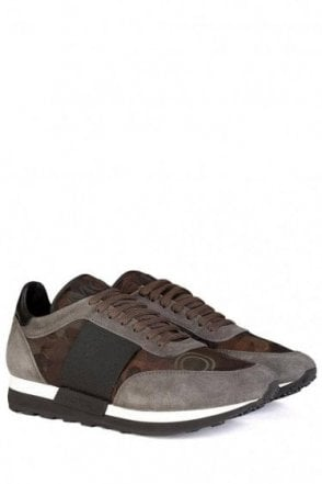 Moncler Horace Camouflage Sneakers Grey