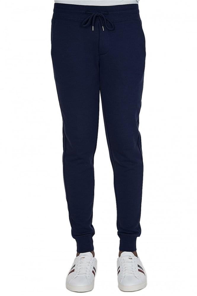moncler tracksuit navy blue