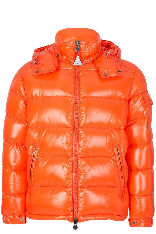 Moncler Maya Puffer Jacket Orange