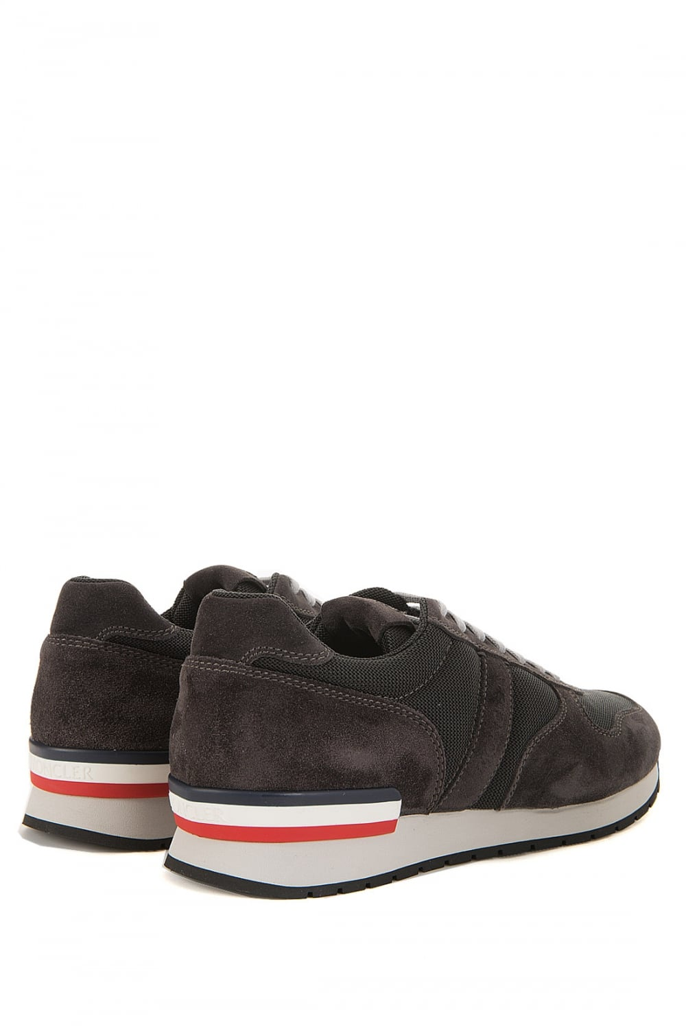 MONCLER Moncler Montego Grey Trainers - MONCLER from ... Hugo Boss Green Shoes