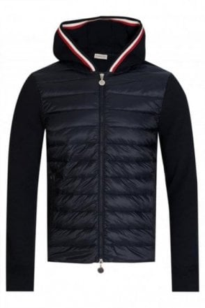 Moncler Padded Hooded Sweatshirt