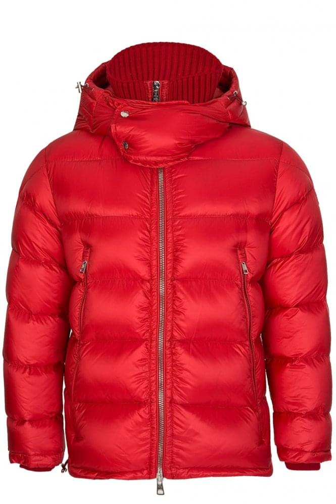 MONCLER Pascal Puffer Jacket Red