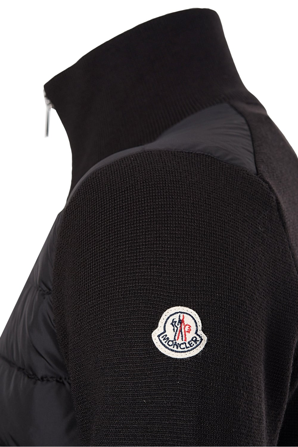 moncler quilted front jacket
