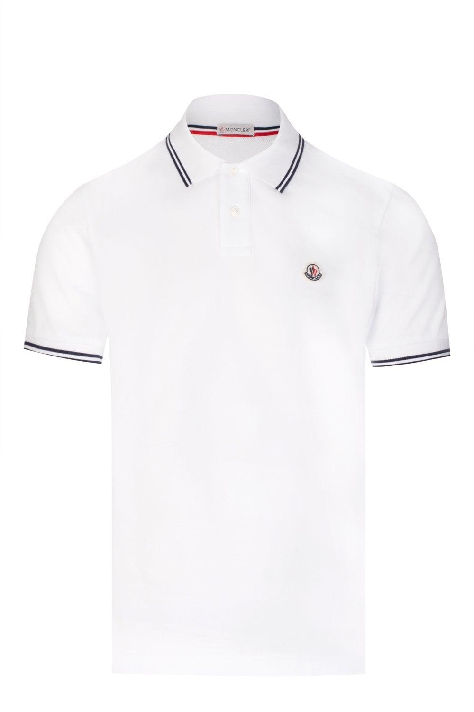 fb07af009 Moncler Black Polo Shirts