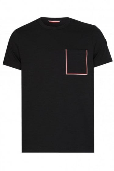 Moncler Stripe Pocket Tshirt