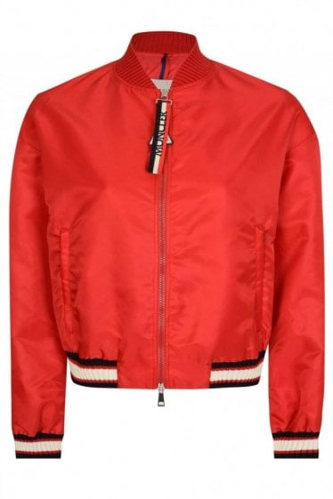 Moncler Womens Actinote Jacket Red