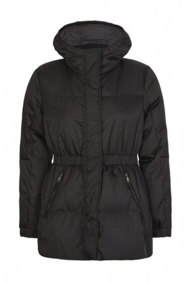 Moncler Women's Fatsia Hooded Jacket Black