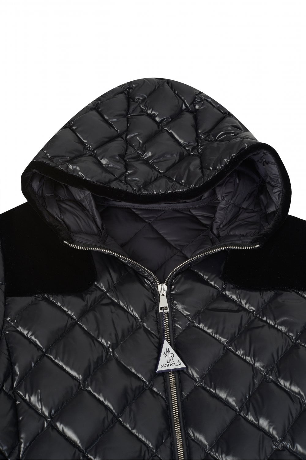 7dc18f978 Moncler Womens Harle Puffer Jacket Black