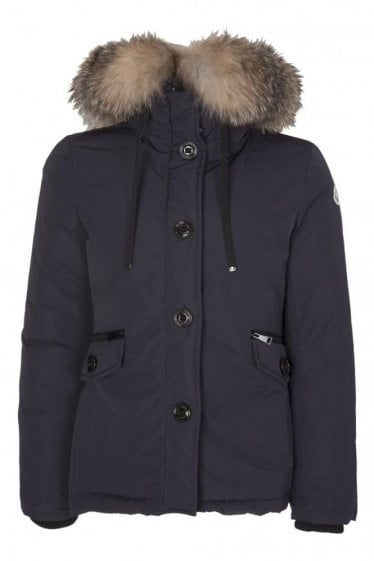 Moncler Women's Malus Coat Navy