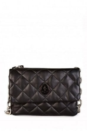 Moncler Women's Quilted Poppy Bag Black