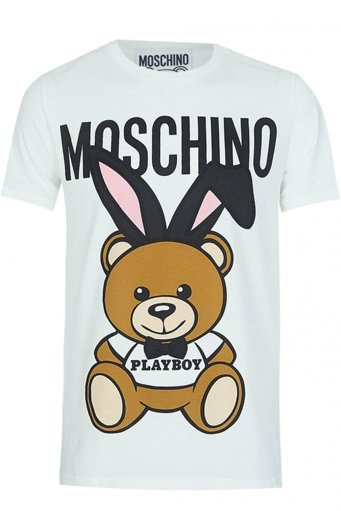 MOSCHINO Playboy Teddy Tshirt