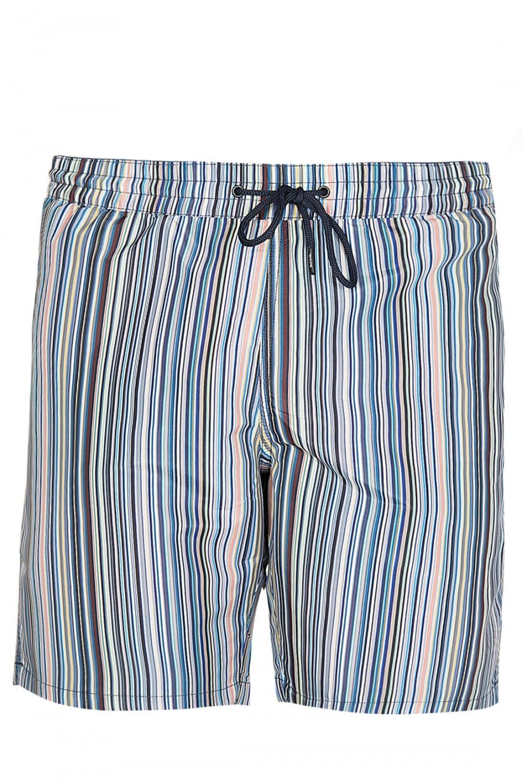 7392614838133 PAUL SMITH Paul Smith Classic Multi Stripe Swim Shorts Blue ...
