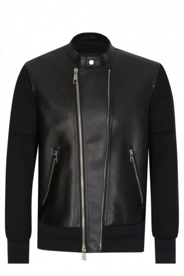 NAPPA LEATHER BOMBER
