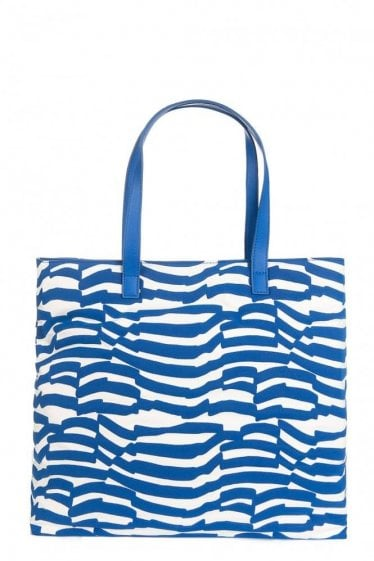 Armani Jeans Nautical Stripe Tote Bag