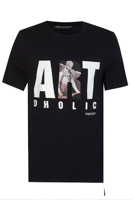 e0e81681 NEIL BARRETT Neil Barrett Art-Oholic T-shirt - Uncategorised from ...