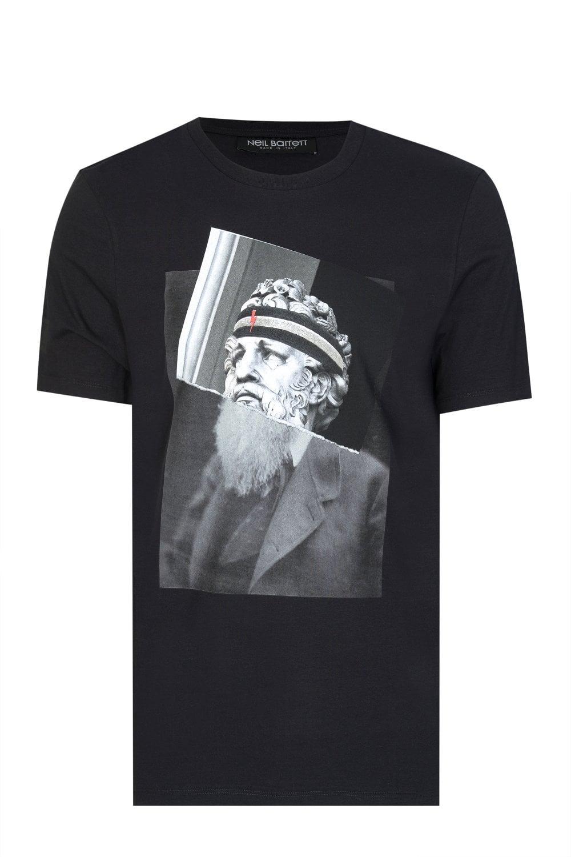 5b519d4e0 NEIL BARRETT Neil Barrett Poseidon Printed T-shirt - Clothing from Circle  Fashion UK