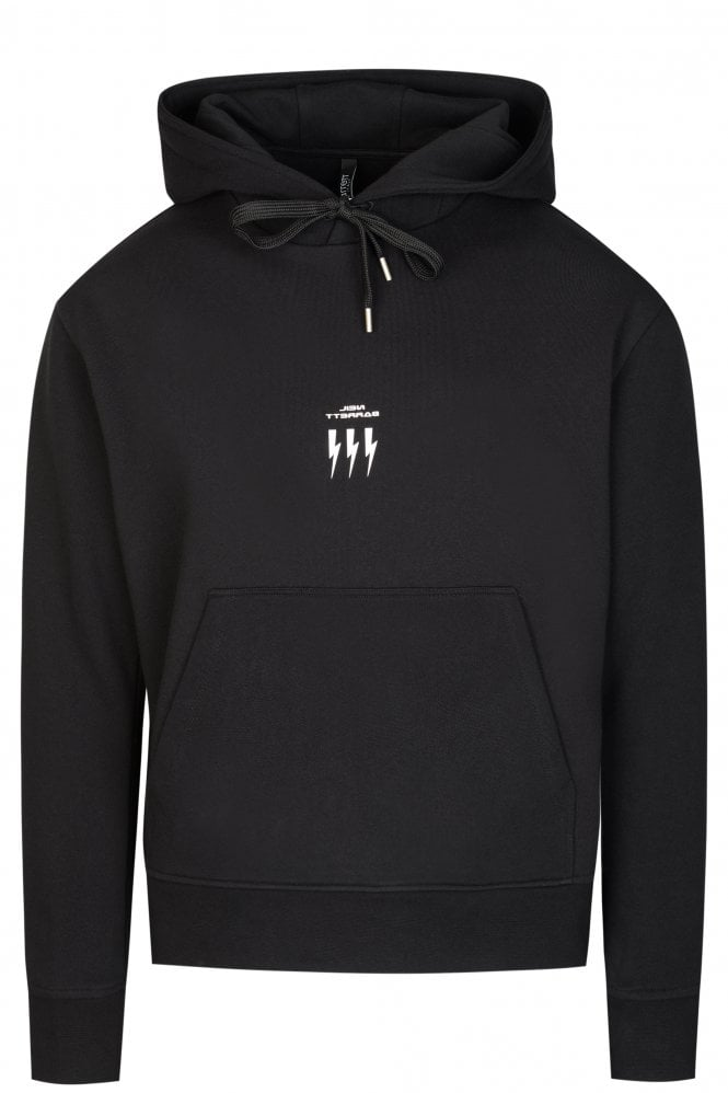 Neil Barrett Triple Bolt Hooded Sweatshirt