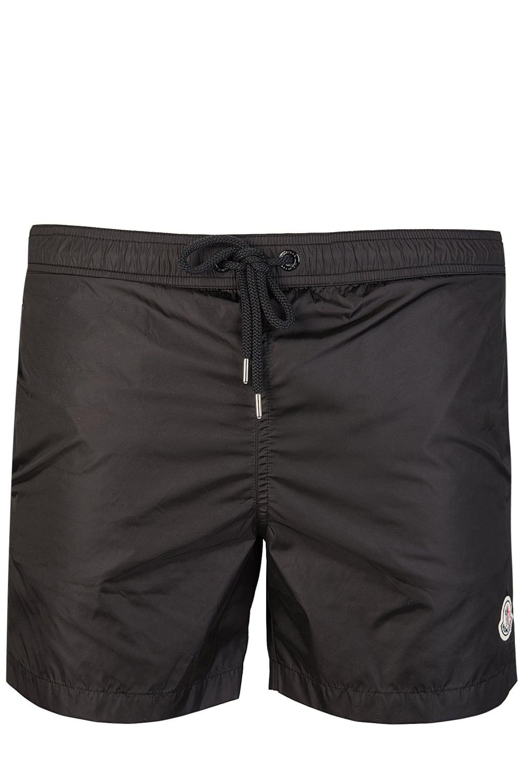 891c5b42c24b8 Moncler Nylon Swim Shorts Black