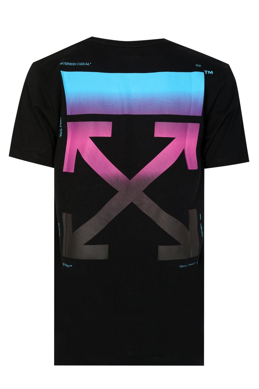a59fe2238567 OFF WHITE Off-White Gradient Arrows Slim Fit T-shirt - Clothing from ...