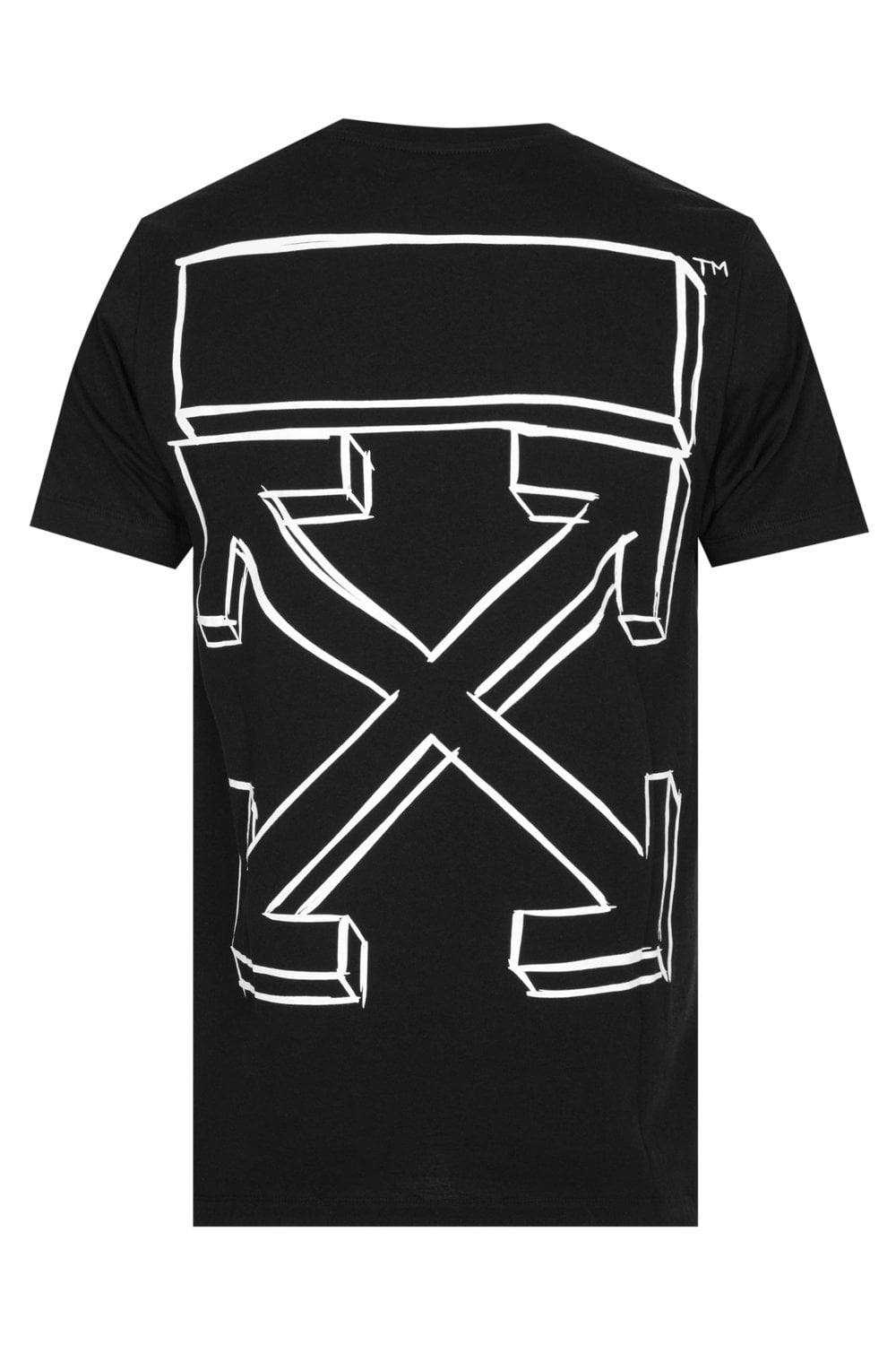 b832c09b0662 Off-White Marker Arrows T-shirt Black