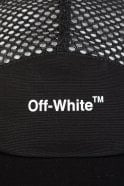 OFF WHITE Off-White Mesh 5 Panel Cap Black