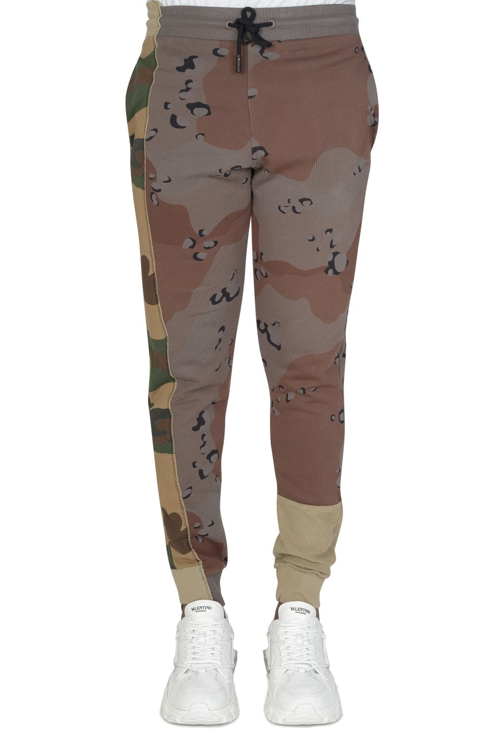 fe10d728 OFF WHITE Off White Reconstructed Camouflage Joggers - Clothing from ...