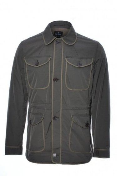 P.S Paul Smith Contrast Trim Jacket