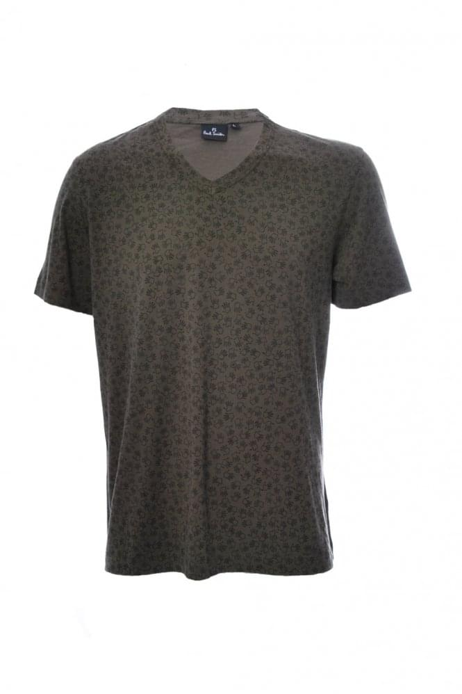 PAUL SMITH P.S PAUL SMITH MULTI HANDS T SHIRT