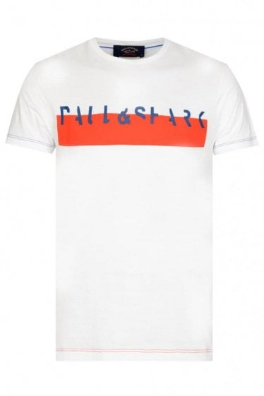 PAUL & SHARK BLOCK STRIPE T-SHIRT