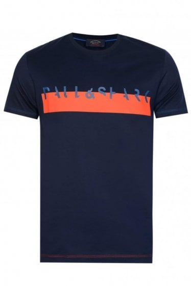 Paul & Shark Block Stripe Tshirt