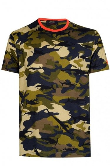 Paul & Shark Camo Tshirt