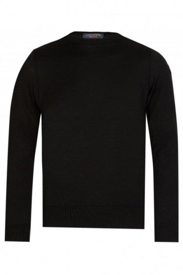 Paul & Shark Classic Knitted Jumper Black