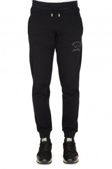 Paul & Shark Combination Item Shark Fit Joggers Black
