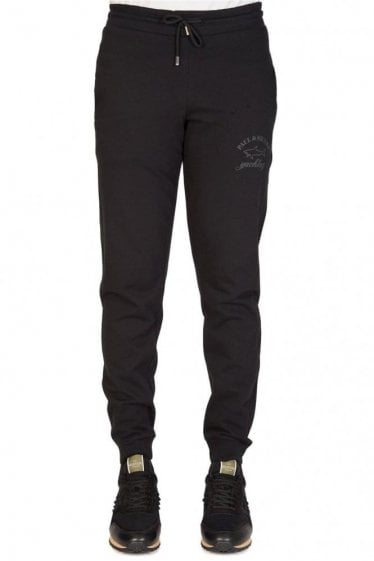 Paul & Shark Combination Shark Fit Joggers Black