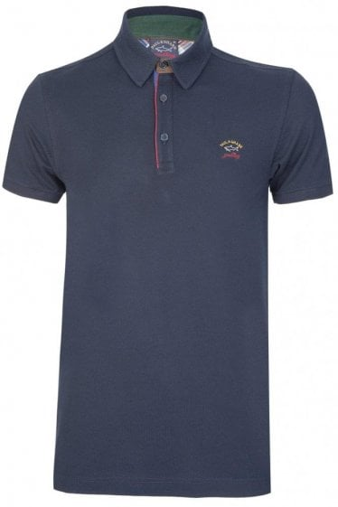 Paul & Shark Contrast Piping Polo Navy