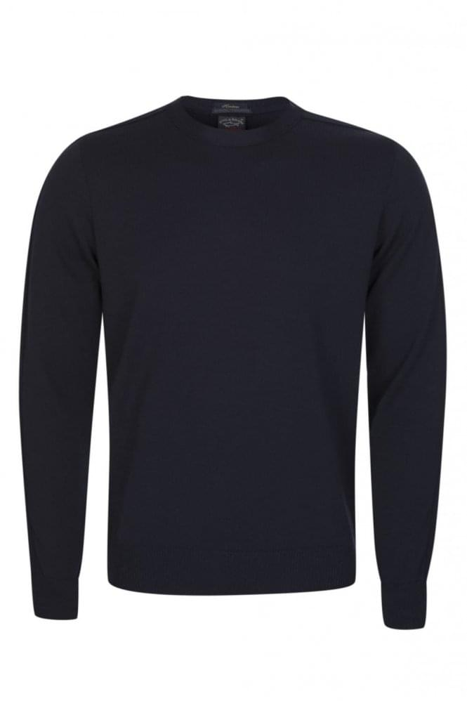 PAUL & SHARK Knitted Jumper Navy