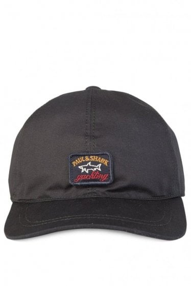 Paul & Shark Logo Classic Baseball Cap Black