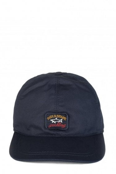 Paul & Shark Logo Classic Baseball Cap Navy