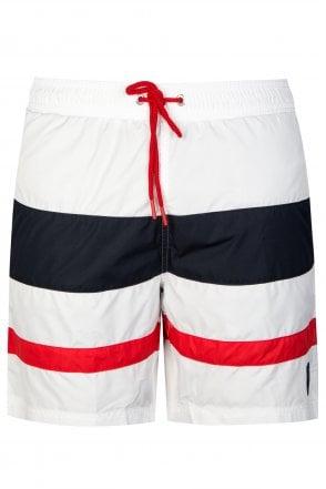 10bdb935d1 PAUL & SHARK Paul & Shark Multi Stripe Swim-shorts - Clothing from ...
