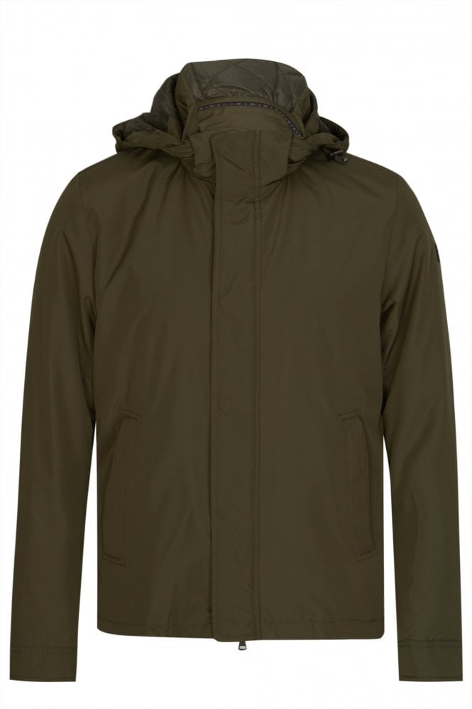 PAUL & SHARK Nylon Detachable Hooded Jacket