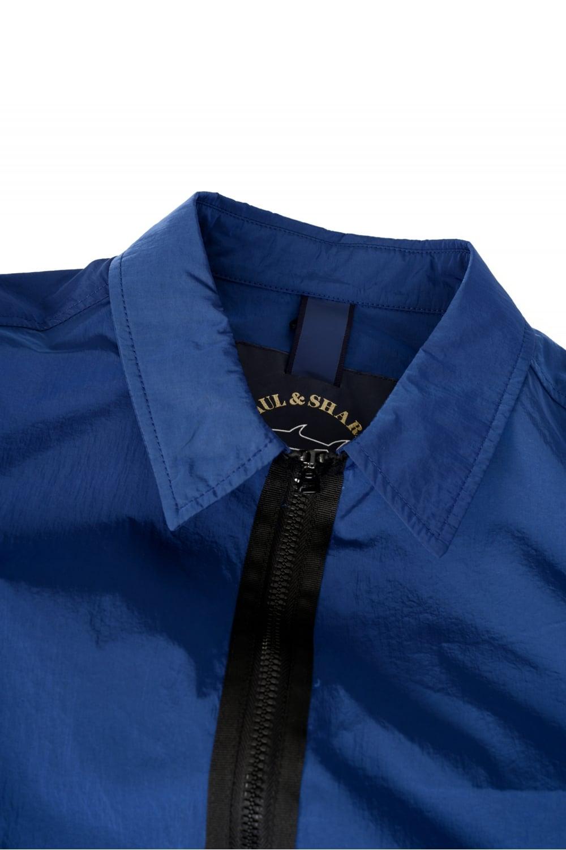 16ef2e51f81a Paul & Shark Nylon Metal Overshirt Blue