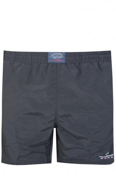 Paul & Shark Nylon Swim Shorts Black