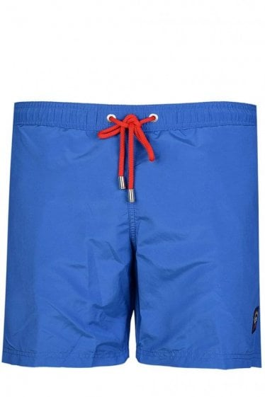 Paul & Shark Nylon Swim Shorts Blue